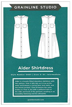 Grainline Studios - Alder Shirt Dress