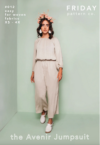 Friday Pattern Co. - The Avenir Jumpsuit