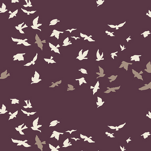 Art Gallery - Voile - Aves Chatter Dim $15.49/ Yard