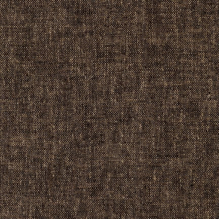 Brussels Washer - Yarn Dye - Espresso- $12.25/ Yard