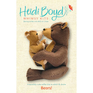 Bears Whimsy Kit