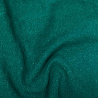 100% Linen - Emerald Green $27.99/ Yard