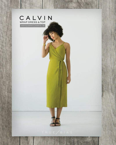 Calvin Wrap Dress/ Top