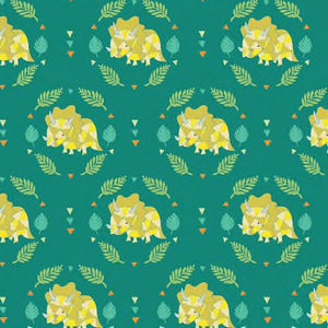 Triceratops - Green $11.49/ Yard