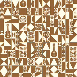 Samba Geo - Brown - 11.49/ Yard ORGANIC