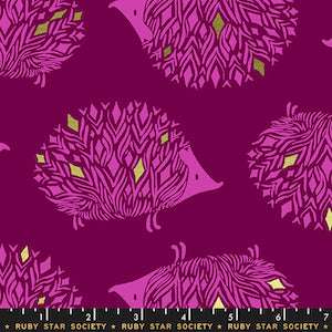 Ruby Star Society - Metallic Purple Velvet $12.99/ Yard