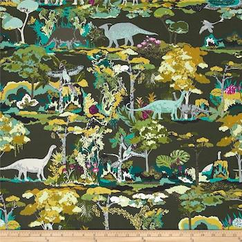 Dinosauria - Grey $11.75/ Yard
