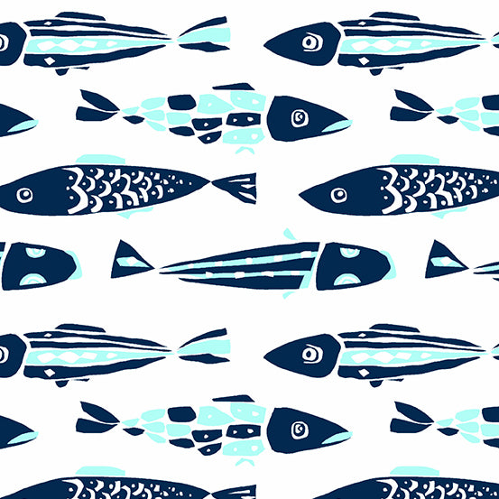 Fish - White $11.25/ Yard