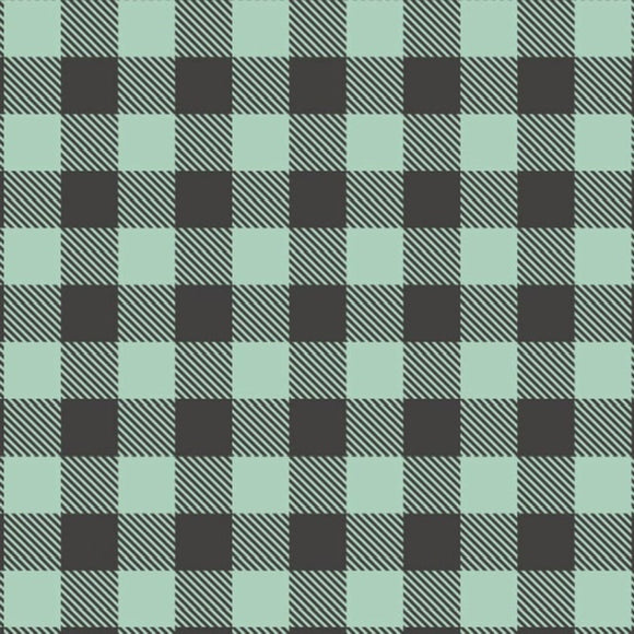 Buffalo Plaid - Mint $11.25/ Yard