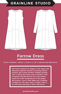 Grainline Studios - Farrow Dress