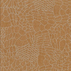 Polk Feathered Roasted Pecan - Linen/Cotton- $13.99/ Yard