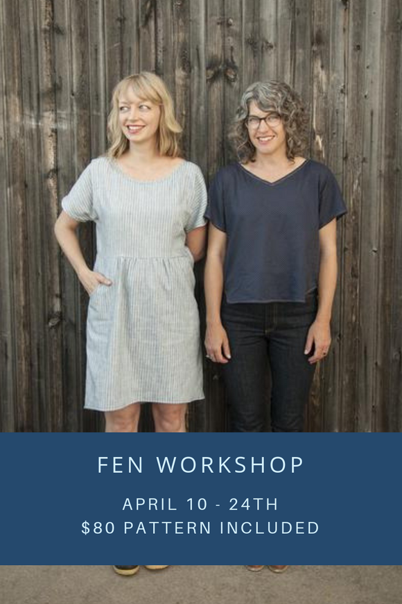 Fen Workshop- 4/10 - 4/24