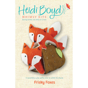 Frisky Foxes Whimsy Kit
