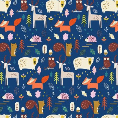 Habitat - Woodland Blue $11.75/yard