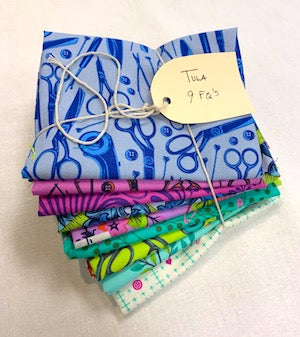 9 Fat Quarter Bundle - Tula Pink