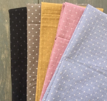 Fat Quarter Bundle: Stitched Woven Collection