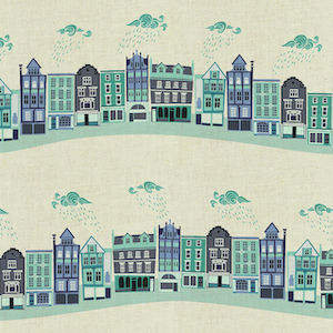 Kings Road - Teal Unbleached $11.99/ Yard