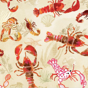 Lobsters - Multi $11.49 / Yard