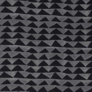 Knit - Little Mountains in Charcoal - $17.49/yd