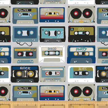 Mixed Tapes - Multi $12.49/ Yard