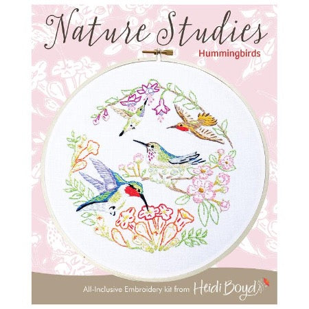 Hummingbird Embroidery Kit