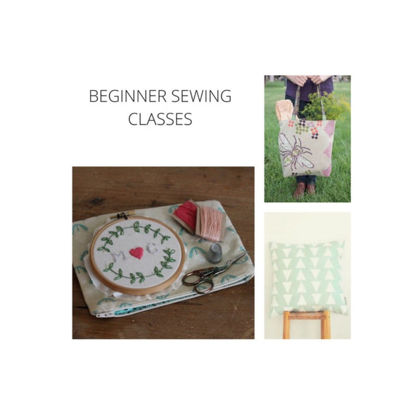 Beginner 1 Sewing
