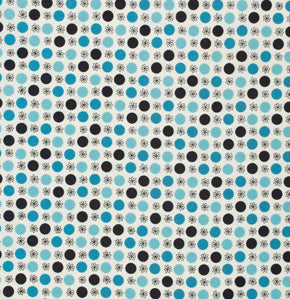 Flower and Dot - Turquoise $10.49/yd *