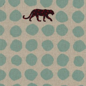 Japanese Linen: Panther Teal 20.99/yd