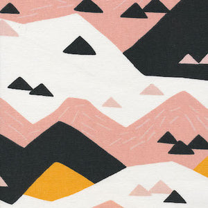 Pink Mountain - Canvas $17.50/ Yard