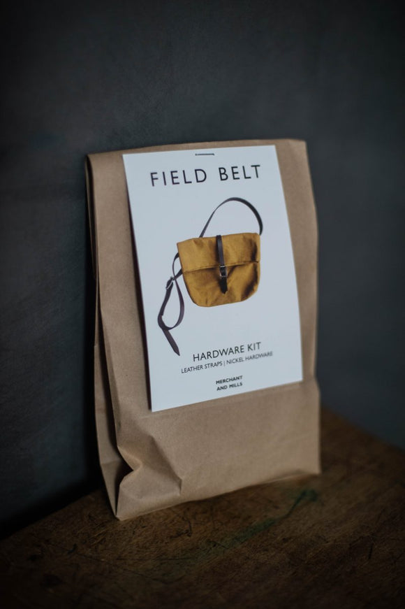 Merchant & Mills - Field Belt Hardware Kit - Nickel
