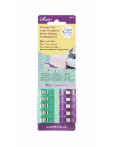 Clover - Purple & Green Wonder Clips