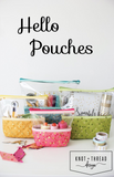 Knot and Thread Designs - Hello Pouch