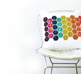 Modern Hand Craft - Hexie Pillow