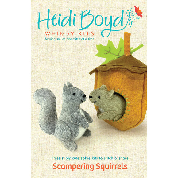 Scampering Squirrels Whimsy Kit