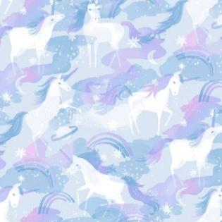 Unicorns - Multi $11.75 / Yard