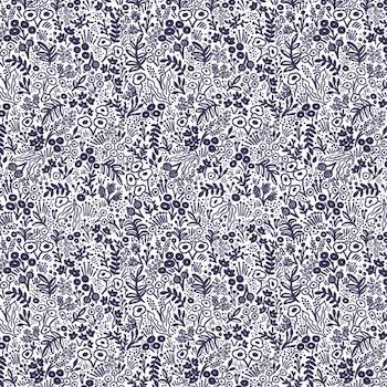 Tapestry Lace - Navy $12.25/ Yard