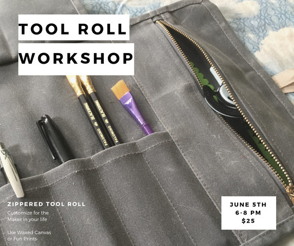 Tool Roll  Workshop : 6/5