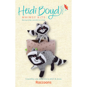 Raccoons Whimsy Kit