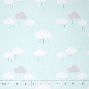When Skys are Grey - Blue $11.49/ Yard