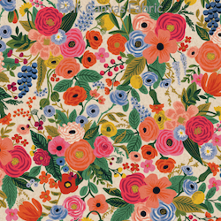 Garden Party Pink Linen - Cotton - $20.25/yd