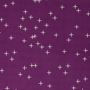 Birch Organics - Dark Plum - Double Gauze $16.99/ Yard