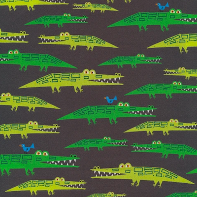 Alligators - 12.50/ Yard ORGANIC