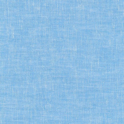 Brussels Washer - Yarn Dye - Blue Jay - $12.25/ Yard
