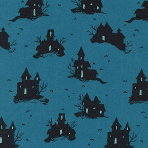 Trick or Treat - Teal $11.99/yd