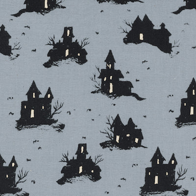 Trick or Treat - Grey $11.99/yd