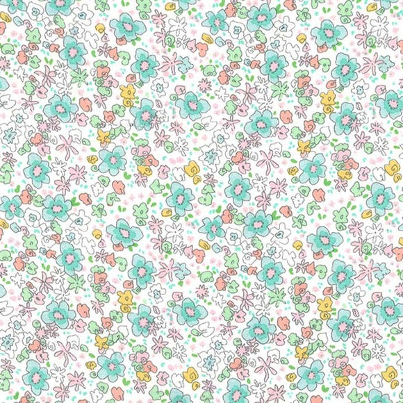 Flannel Meadow Spring $10.99/yd