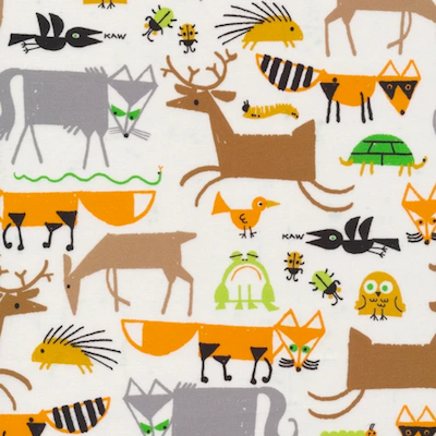 Forest Friends - 12.50/ Yard ORGANIC