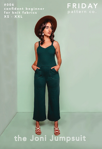 Friday Pattern Co. - The Joni Jumpsuit