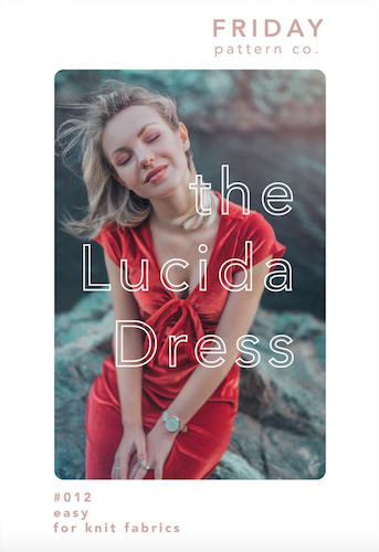 Friday Pattern Co. - The Lucida Dress