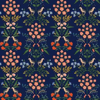 Luxembourg in Navy $11.99/ Yard